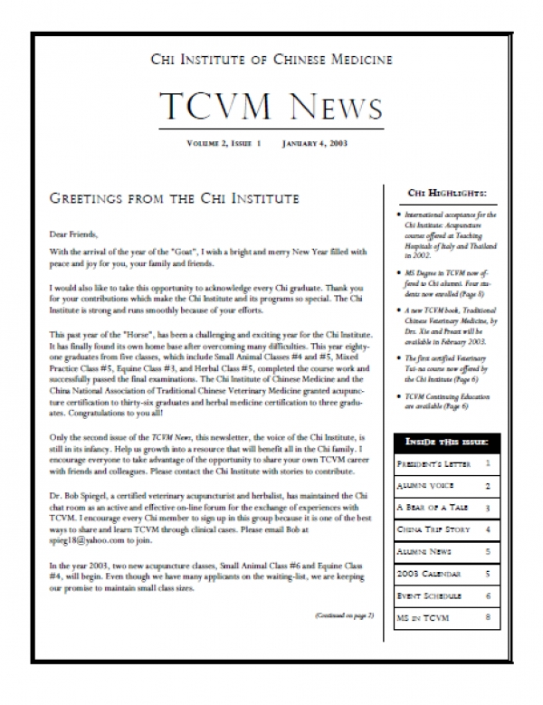 Issue 2, Spring 2003